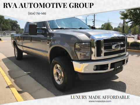 2009 Ford F-250 Super Duty for sale at RVA Automotive Group in North Chesterfield VA