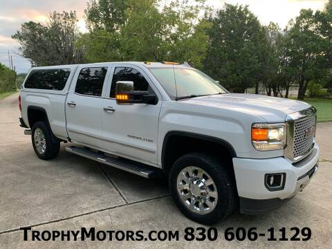 2016 GMC Sierra 2500HD for sale at TROPHY MOTORS in New Braunfels TX
