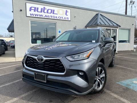 2020 Toyota Highlander for sale at AUTOLOT in Bristol PA