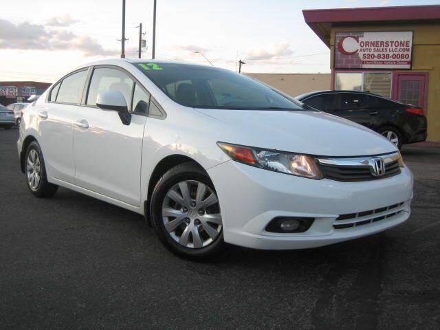 2012 Honda Civic for sale at Cornerstone Auto Sales in Tucson AZ