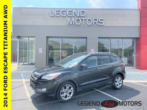 2014 Ford Escape for sale at Legend Motors of Waterford in Waterford MI