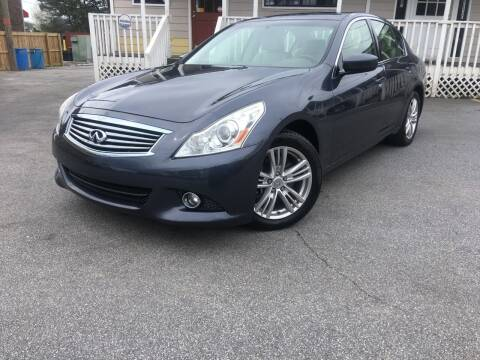 2012 Infiniti G25 Sedan for sale at Georgia Car Shop in Marietta GA