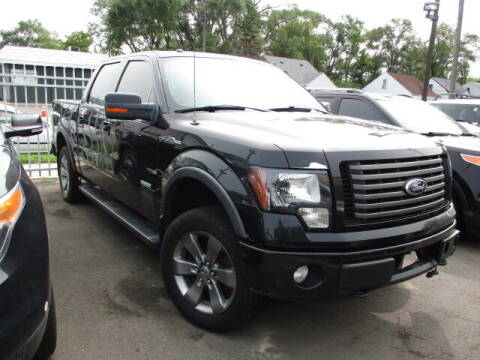 2012 Ford F-150 for sale at SOUTHFIELD QUALITY CARS in Detroit MI