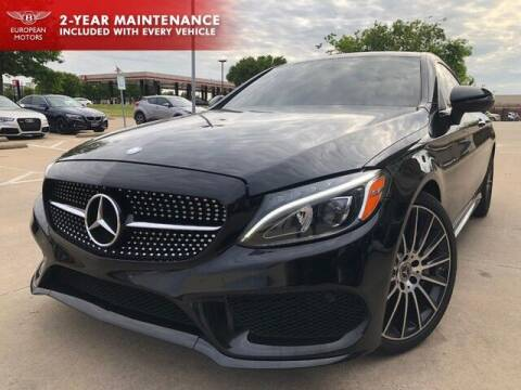 2017 Mercedes-Benz C-Class for sale at European Motors Inc in Plano TX
