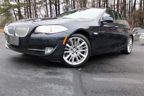 2012 BMW 5 Series for sale at Atlanta Unique Auto Sales in Norcross GA