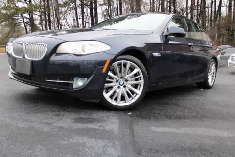 2012 BMW 5 Series for sale at Atlanta Unique Auto Sales in Norcross GA