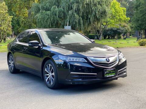 2016 Acura TLX for sale at Lux Motors in Tacoma WA