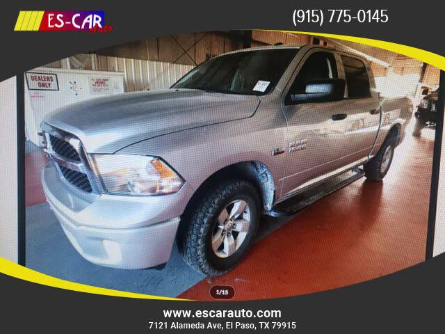 2014 RAM Ram Pickup 1500 for sale at Escar Auto in El Paso TX