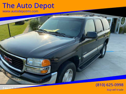 2005 GMC Yukon for sale at The Auto Depot in Mount Morris MI