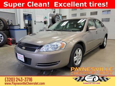 2006 Chevrolet Impala for sale at Paynesville Chevrolet Buick in Paynesville MN