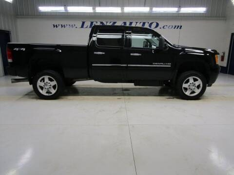 2014 GMC Sierra 2500HD for sale at LENZ TRUCK CENTER in Fond Du Lac WI