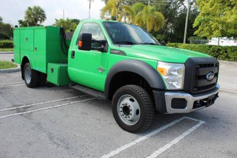 2013 Ford F-450 Super Duty for sale at Truck and Van Outlet - Miami Inventory in Miami FL