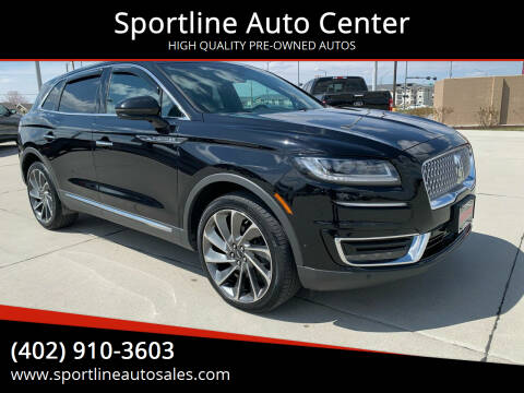 2019 Lincoln Nautilus for sale at Sportline Auto Center in Columbus NE