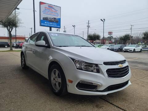 2015 Chevrolet Cruze for sale at Magic Auto Sales in Dallas TX