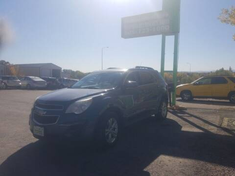 2012 Chevrolet Equinox for sale at Independent Auto in Belle Fourche SD