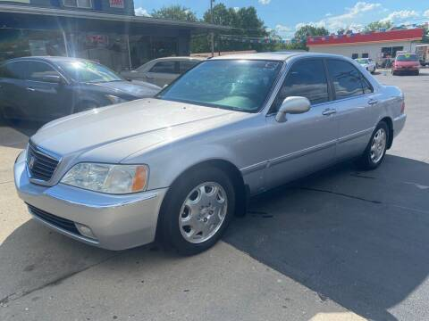 2001 Acura RL for sale at Wise Investments Auto Sales in Sellersburg IN
