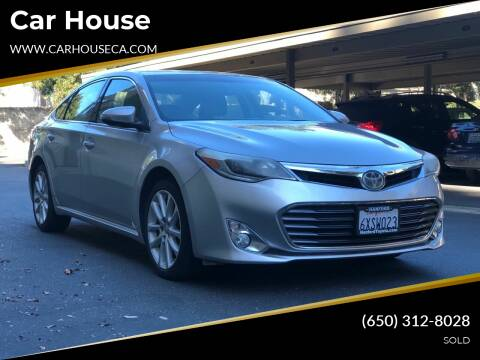 2013 Toyota Avalon for sale at Car House in San Mateo CA