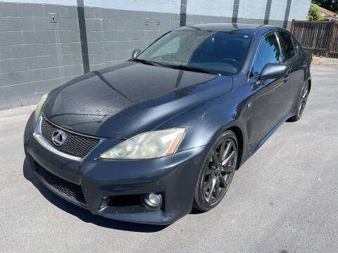 2008 Lexus IS F for sale at APX Auto Brokers in Edmonds WA