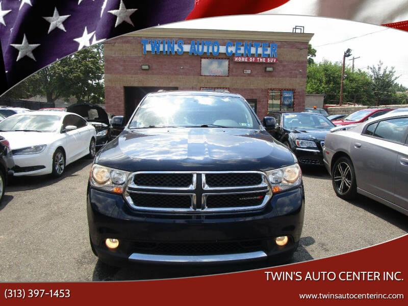 2013 Dodge Durango for sale at Twin's Auto Center Inc. in Detroit MI