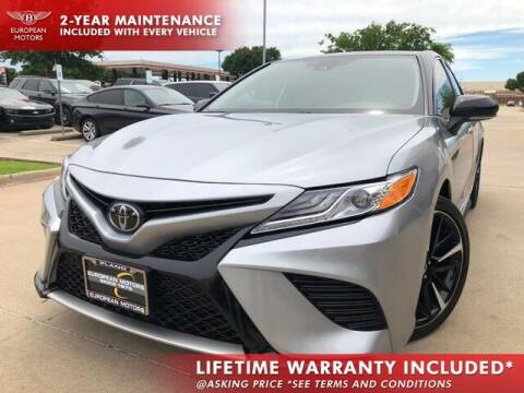 2020 Toyota Camry for sale at European Motors Inc in Plano TX
