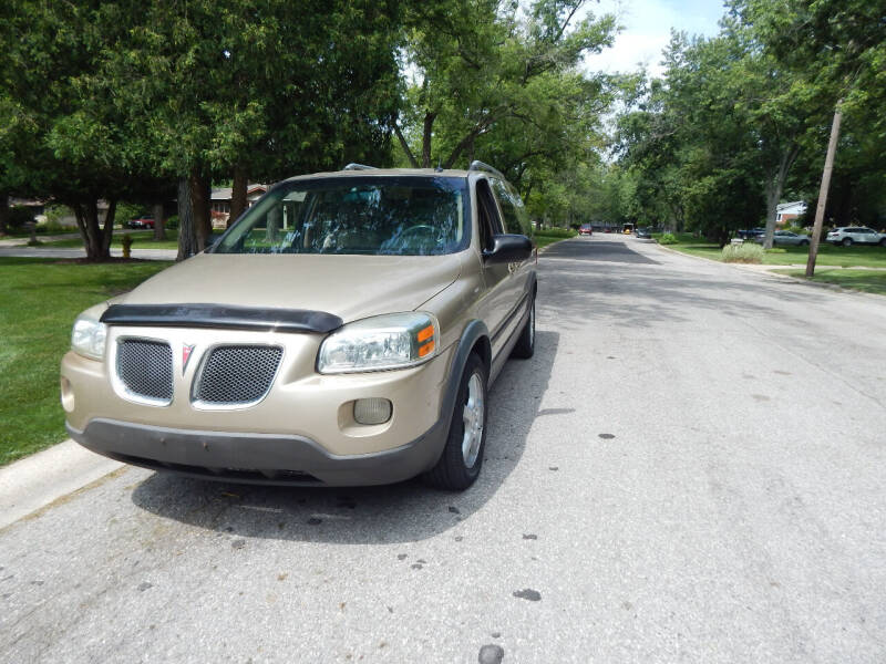 2006 Pontiac Montana SV6 for sale at National Vehicle Brokers in Merrillville IN