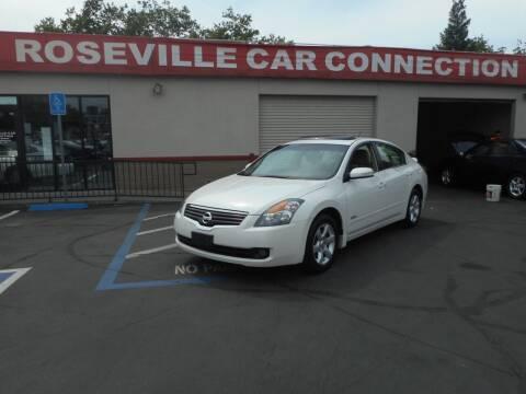 2009 Nissan Altima Hybrid for sale at ROSEVILLE CAR CONNECTION in Roseville CA