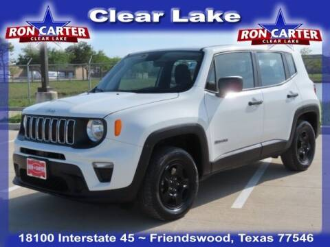2019 Jeep Renegade for sale at Ron Carter  Clear Lake Used Cars in Houston TX