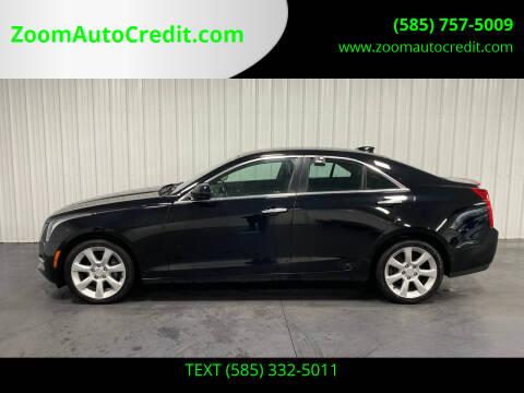 2016 Cadillac ATS for sale at ZoomAutoCredit.com in Elba NY
