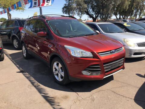 2015 Ford Escape for sale at Valley Auto Center in Phoenix AZ