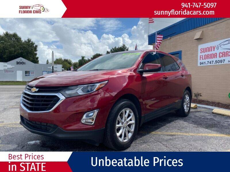 2018 Chevrolet Equinox for sale at Sunny Florida Cars in Bradenton FL