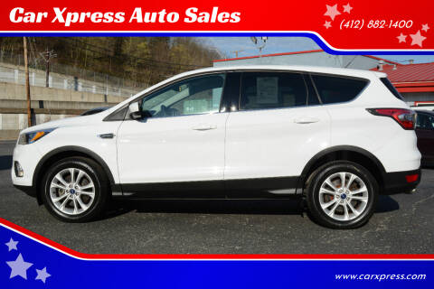 2017 Ford Escape for sale at Car Xpress Auto Sales in Pittsburgh PA