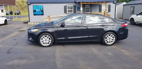 2015 Ford Fusion for sale at Elite Auto Brokers in Lenoir NC