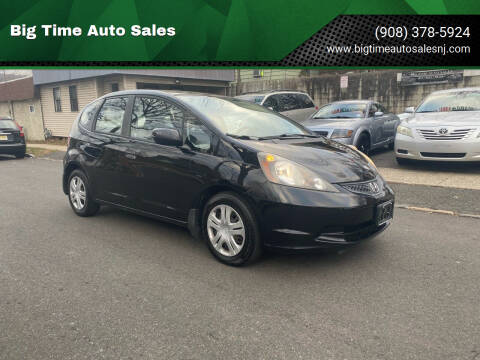 2011 Honda Fit for sale at Big Time Auto Sales in Vauxhall NJ