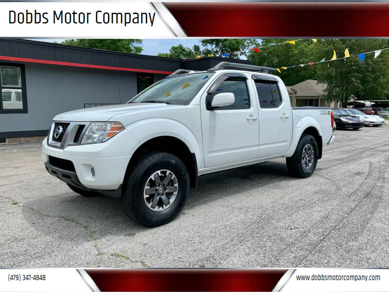 2015 Nissan Frontier for sale at Dobbs Motor Company in Springdale AR