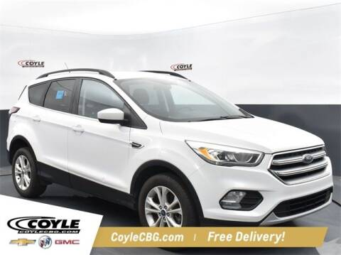 2017 Ford Escape for sale at COYLE GM - COYLE NISSAN - New Inventory in Clarksville IN