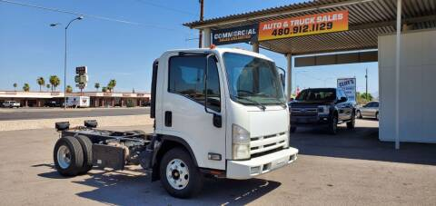 2011 Isuzu NPR for sale at AZ WORK TRUCKS AND VANS in Mesa AZ