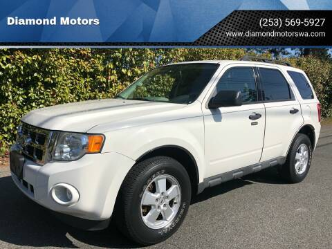 2010 Ford Escape for sale at Diamond Motors in Lakewood WA