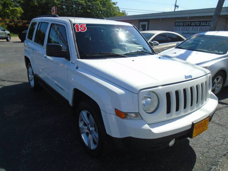 2015 Jeep Patriot for sale at River City Auto Sales in Cottage Hills IL