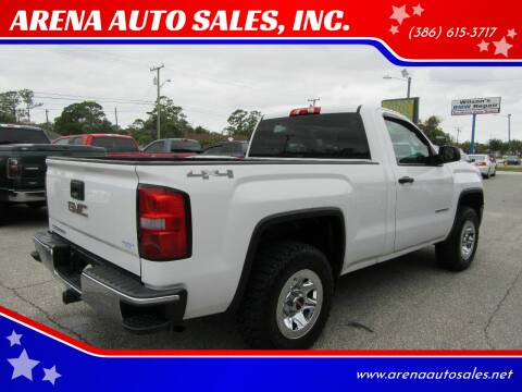 2015 GMC Sierra 1500 for sale at ARENA AUTO SALES,  INC. in Holly Hill FL