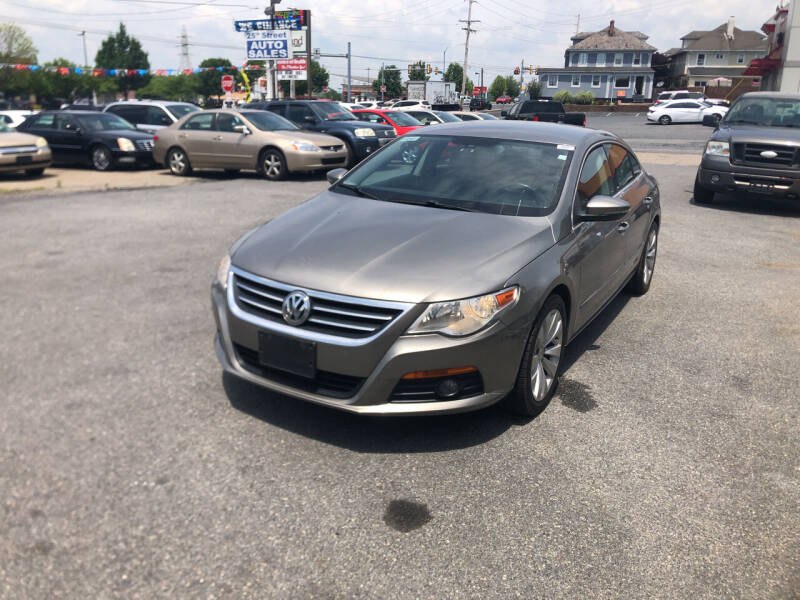 2010 Volkswagen CC for sale at 25TH STREET AUTO SALES in Easton PA