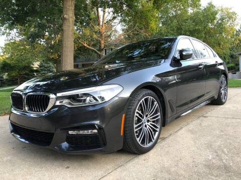 2017 BMW 5 Series for sale at BAVARIAN AUTOGROUP LLC in Kansas City MO