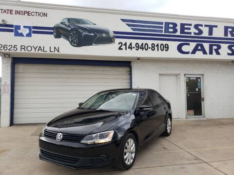 2012 Volkswagen Jetta for sale at Best Royal Car Sales in Dallas TX
