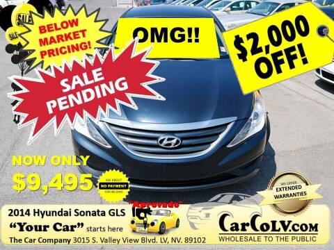 2014 Hyundai Sonata for sale at The Car Company in Las Vegas NV