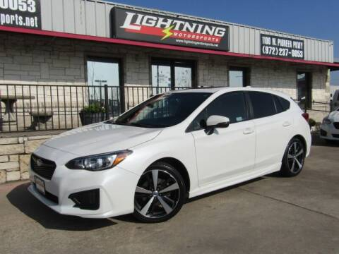 2018 Subaru Impreza for sale at Lightning Motorsports in Grand Prairie TX