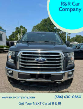 2017 Ford F-150 for sale at R&R Car Company in Mount Clemens MI