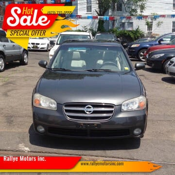 2003 Nissan Maxima for sale at Rallye  Motors inc. in Newark NJ