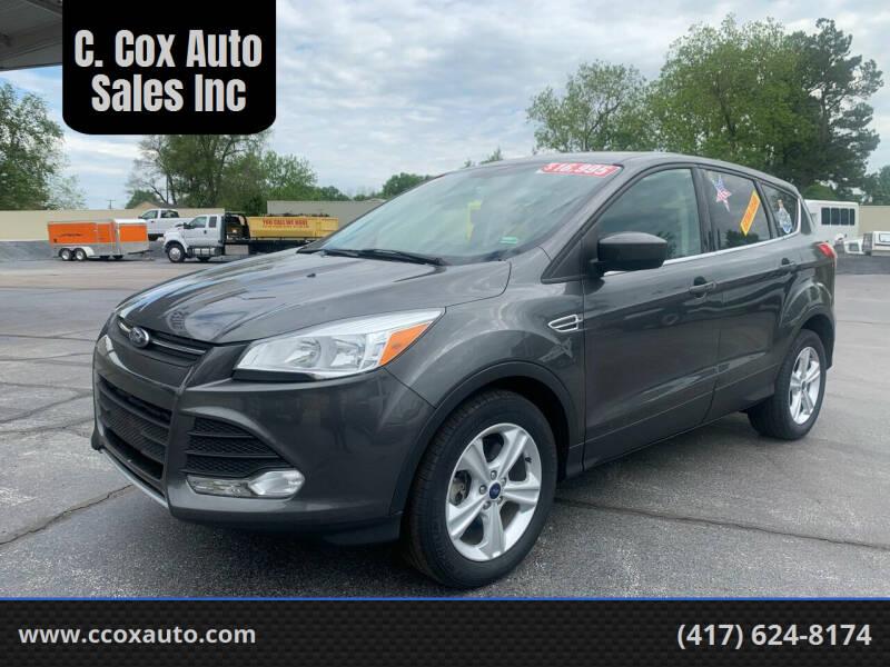 2016 Ford Escape for sale at C. Cox Auto Sales Inc in Joplin MO