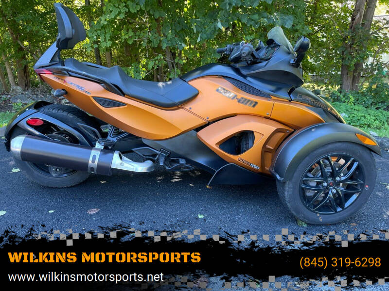 2011 Can-Am Spyder for sale at WILKINS MOTORSPORTS in Brewster NY