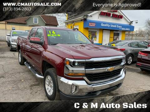 2016 Chevrolet Silverado 1500 for sale at C & M Auto Sales in Detroit MI