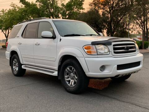 2004 Toyota Sequoia for sale at COUNTY AUTO SALES in Rocklin CA